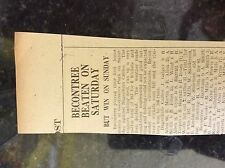 M3-9a ephemera 1941 dagenham ww2beacontree v dagenham cables cricket galgey gyne