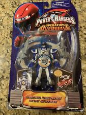 Bandai Power Rangers Operation Overdrive Mission Response Blue Ranger New