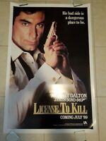 Licence To Kill movie poster - orig adv poster Timothy Dalton, James Bond 007