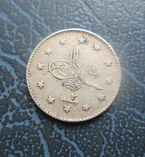 1910 (1327/2) Ottoman Empire, Turkey Silver 1 Kurush