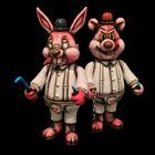 Frank Kozik A Clockwork Carrot Orange Dim and Alex Biohazard Edition 4 only!BNIB