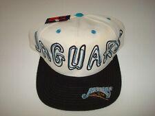 JACKSONVILLE JAGUARS PRO PLAYERS  SCRIPT NEW VINTAGE 90'S HAT CAP  SNAPBACK