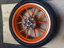 KTM RC 125 2016 REAR WHEEL WITH TYRE