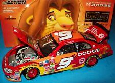 Bill Elliott 2003 Dodge The Lion King #9 Evernham Intrepid 1/24 NASCAR Diecast
