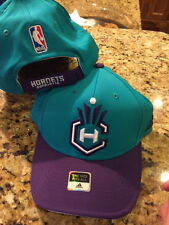 adidas Nba Courtside Stretch Fitted Fit Hat Cap Charlotte Adjustable A