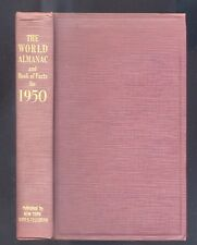 The World Almanac and Book of Facts for 1950,Harry Hansen   R
