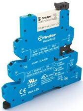 Finder 39 Series[Blank] 12V ac/dc DIN Rail Interface Relay Module, SPDT, Push In