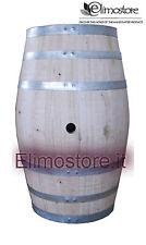 Tonnelet Artisanat Fût Tonneau tonneaux Bois 100 litres Fûts de vin en châtaigne