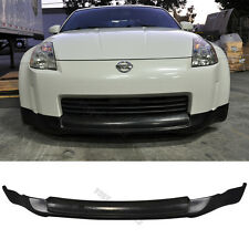 Fits 03-04 05 Nissan 350Z Ing-S Style Front Bumper Lip PU