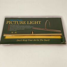 """Advent Profile Picture Light 16"""" satin nickel Brass Picture Light House of Troy"""