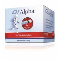 CH ALPHA Trinkampullen 30 St