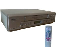 SHARP - Video Cassette Recorder - VHS Player - VC-MH75HM With REMOTE CONTROL