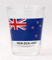 NEW ZEALAND FLAG SHOT GLASS SHOTGLASS