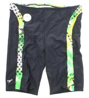 """Speedo 7082131 Men's Team """"Home of the Fast"""" Swimsuit Jammer Suit Shorts"""