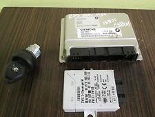 BMW 5 E39 520i X5 E53 ENGINE UNIT CONTROL ECU COMPUTER KEY EWS3 5WK90015 7519308