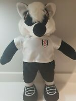 """FULHAM FC BILLY THE BADGER MASCOT PLUSH SOFT TOY 20"""" EXCELLENT CONDITION"""