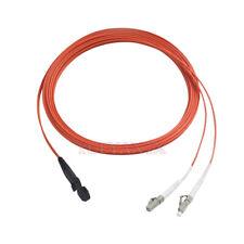 3 Meter Fiber Patch Cord Jumper Cable MTRJ-LC LC-MTRJ Multimode OM1 62.5/125