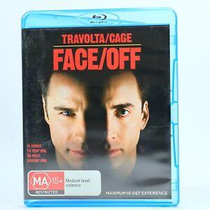 Face/Off Nicolas Cage John Travolta (Blu Ray 2007) VR4 GC Free Tracked Post
