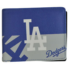 Brand New MLB LA Los Angeles Dodgers Men Synthetic Leather Bi-Fold Wallet
