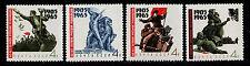 RUSIA/URSS-RUSSIA/USSR 1965 MNH SC.3070/3073 Revolution 1905