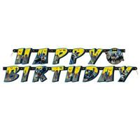 BATMAN HAPPY BIRTHDAY LETTER BANNER 182CM LONG DC COMICS NEW GIFT