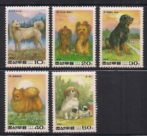 Korea.. 1994  Sc # 3289-93  Year of the Dog   MNH  OG   (3-6612)