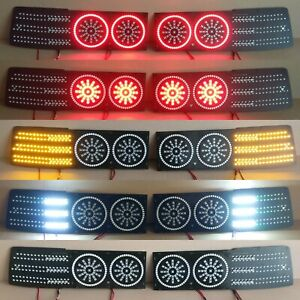"Toyota Supra MK3 ""CIRCLES"" LED Lanterns Conversion Kit  (restyle 89+)"