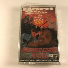 Born 2wice ‎– U Have The Right 2 Remain Violent Cassette RARE Houston OOP