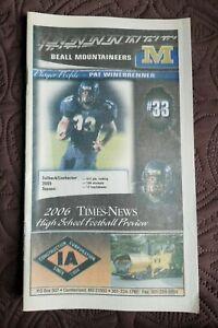 2006 Beall High School - Frostburg Maryland  - Football Guide
