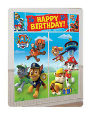 Paw Patrol Scene Setter Wall Decorations for Kids Birthday Parties