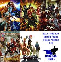 Extermination Mark Brooks Virgin Variant Bundle 1 2 3 4 5 Set (Marvel 2018)