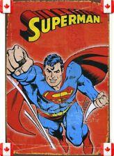 20X30cm Tin Metal Sign SUPERMAN SUPERHEROES VINTAGE GARAGE CAFE BAR PUB Wall 013