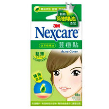 [3M NEXCARE] Acne Dressing Pimple Patch Stickers TEA TREE OIL 18 Patches NEW