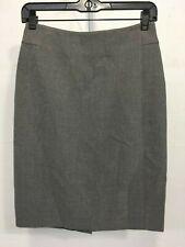 374a570215 Ann Taylor Loft Women's A Line Gray Zip On Back Casual Skirt Size 2