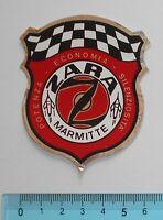 STICKER VINTAGE ADESIVO AUTOCOLLANT AUTO TUNING ZARA MARMITTE ANNI'80 6x7 cm