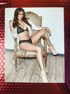 Lucy Pinder signed 10x8 photograph
