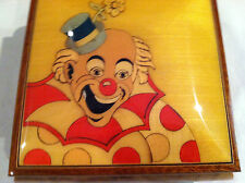 """Reuge Music """" Clown"""" Jewelry Music Box With 18nt Reuge Movement"""