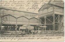 CARTE POSTALE / BETHUNE / PUIT N° 8 COMPAGNIE DES MINES DE NAUX LE CRIBLAGE 1905