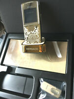 LUXURY NEW NOKIA 8800 SIROCCO GOLD 8800S VERSACE EDITION UNLOCKED GSM CELL PHONE