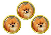 Pomeranian Chien (Zwergspitz) Marqueurs de Balles de Golf