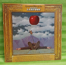 Greatest Hits Of The National Lampoon Vinyl Record LP Visa 7008