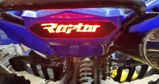 Raptor 700 Brake Light Vinyl Decal Yamaha (RAPTOR decal) Part accs. graphic ATV