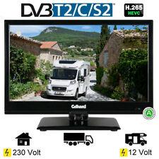 Gelhard GTV-1642 LED-TV 15,6 Zoll Fernseher DVB - S2-T2-C 12 / 230 Volt Full HD