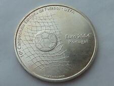 1000 escudos de Plata Portugal 2001, pesa 27,1 grs. Campeonato Futbol UEFA 2004