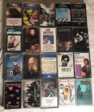 Vintage Cassette Lot Of 20 Tapes Grateful Dead Led Zeppelin Blue Oyster Cult etc