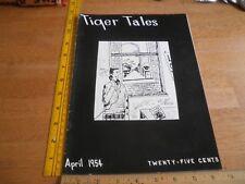 LSU Tiger Tales 1954 campus magazine Pastime Lounge  V1 #2 Girls Jokes cartoons