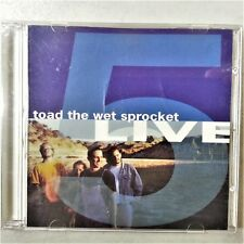 Toad The Wet Sprocket CD Five 5 Live Recorded At Whiskey A Go Go 1992