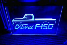 Ford F150 Led Neon Blue Light Sign 8x12