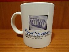 Vintage OxyContin Oxycodone Opioid Purdue Narcotic Pharmaceutical Coffee Mug Cup