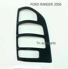 MATTE BLACK TAIL LAMP BACK LIGHT COVER TRIM FOR FORD RANGER XLT 2006-08 PICKUP